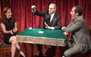 Georges-Robert performing in the Close-Up Gallery at The Magic Castle®